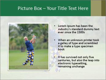 Thailand Golf Championship PowerPoint Templates - Slide 13