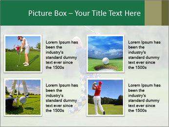 Thailand Golf Championship PowerPoint Templates - Slide 14