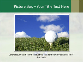 Thailand Golf Championship PowerPoint Templates - Slide 15