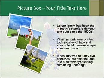 Thailand Golf Championship PowerPoint Templates - Slide 17