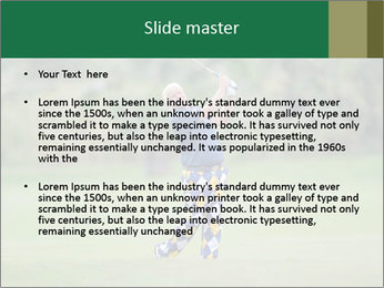 Thailand Golf Championship PowerPoint Templates - Slide 2