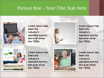 Young Woman Teaching PowerPoint Templates - Slide 14