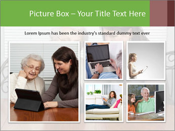 Young Woman Teaching PowerPoint Templates - Slide 19
