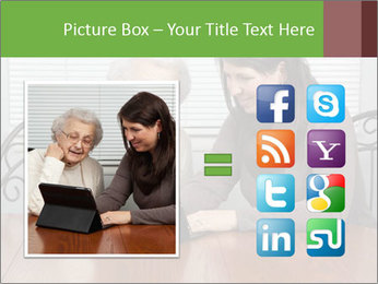 Young Woman Teaching PowerPoint Templates - Slide 21