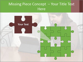Young Woman Teaching PowerPoint Templates - Slide 45