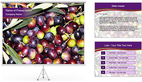 Freshly harvested PowerPoint Template