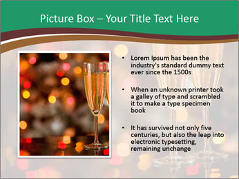 Two champagner glasses PowerPoint Template - Slide 13
