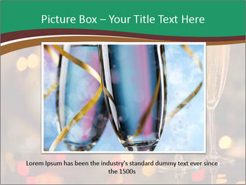 Two champagner glasses PowerPoint Template - Slide 15