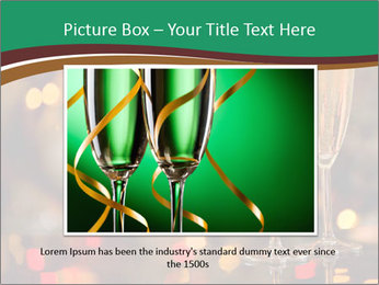 Two champagner glasses PowerPoint Template - Slide 16