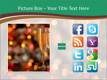Two champagner glasses PowerPoint Template - Slide 21
