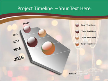 Two champagner glasses PowerPoint Template - Slide 26