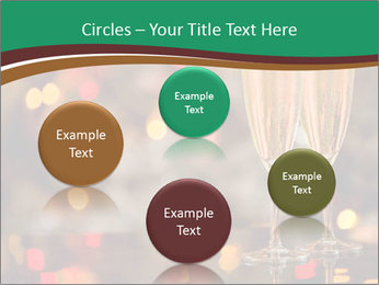 Two champagner glasses PowerPoint Template - Slide 77