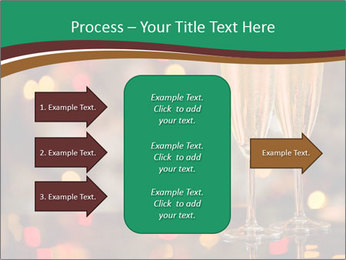 Two champagner glasses PowerPoint Template - Slide 85