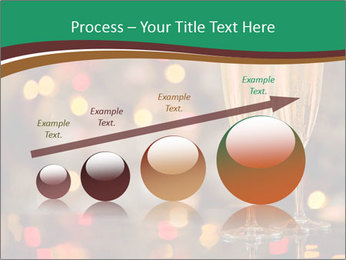 Two champagner glasses PowerPoint Template - Slide 87