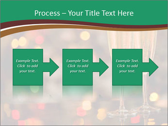 Two champagner glasses PowerPoint Template - Slide 88