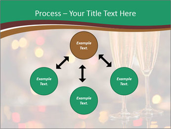 Two champagner glasses PowerPoint Template - Slide 91