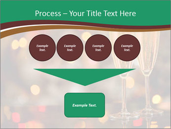 Two champagner glasses PowerPoint Template - Slide 93