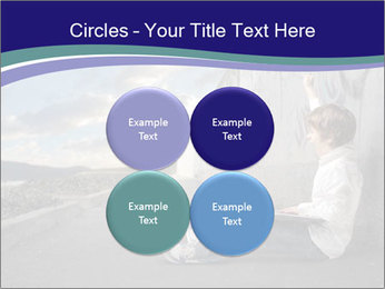 Triumphing child sitting PowerPoint Template - Slide 38