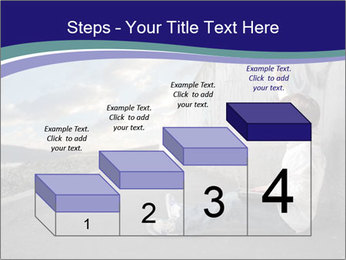 Triumphing child sitting PowerPoint Template - Slide 64