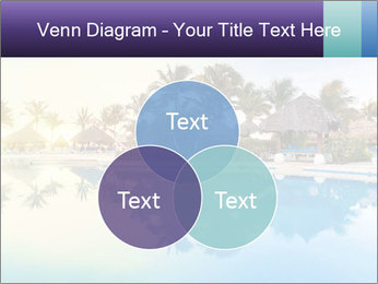 Tropical swimming pool PowerPoint Template - Slide 33