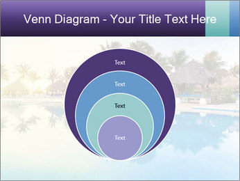Tropical swimming pool PowerPoint Template - Slide 34