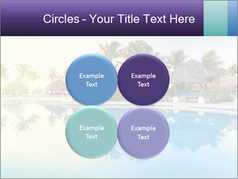 Tropical swimming pool PowerPoint Template - Slide 38