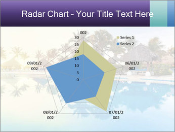Tropical swimming pool PowerPoint Template - Slide 51