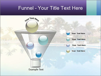 Tropical swimming pool PowerPoint Template - Slide 63
