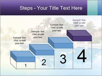Tropical swimming pool PowerPoint Template - Slide 64