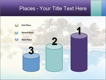Tropical swimming pool PowerPoint Template - Slide 65