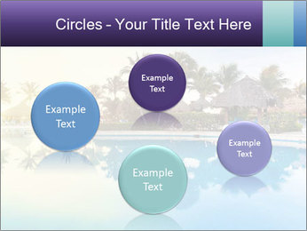 Tropical swimming pool PowerPoint Template - Slide 77