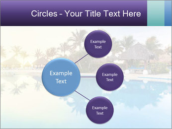 Tropical swimming pool PowerPoint Template - Slide 79