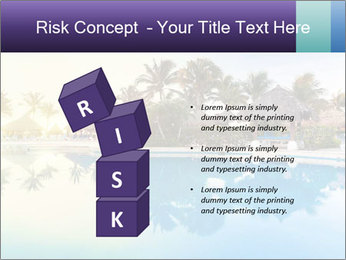 Tropical swimming pool PowerPoint Template - Slide 81