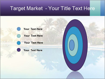 Tropical swimming pool PowerPoint Template - Slide 84
