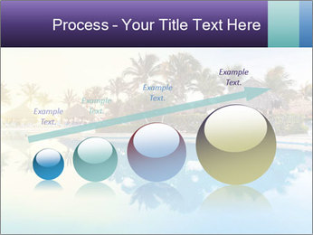 Tropical swimming pool PowerPoint Template - Slide 87