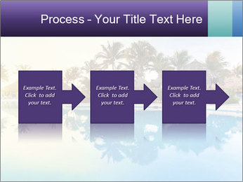 Tropical swimming pool PowerPoint Template - Slide 88