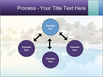 Tropical swimming pool PowerPoint Template - Slide 91