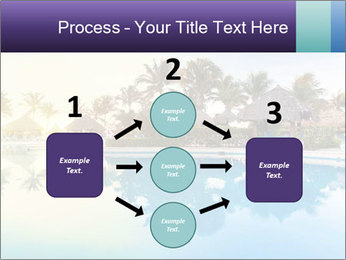 Tropical swimming pool PowerPoint Template - Slide 92