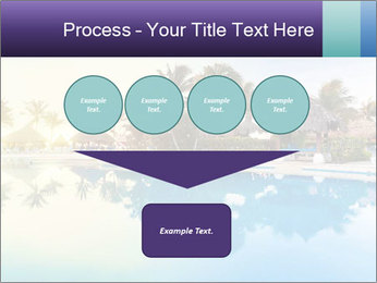 Tropical swimming pool PowerPoint Template - Slide 93