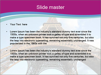 Eiffel Tower in Paris PowerPoint Templates - Slide 2