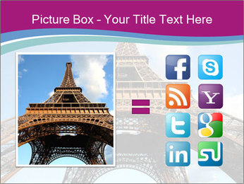 Eiffel Tower in Paris PowerPoint Templates - Slide 21