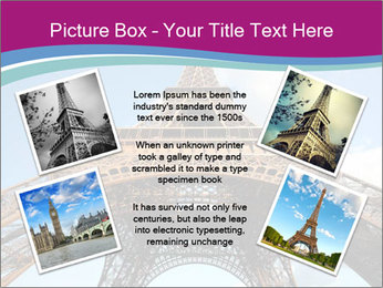Eiffel Tower in Paris PowerPoint Templates - Slide 24