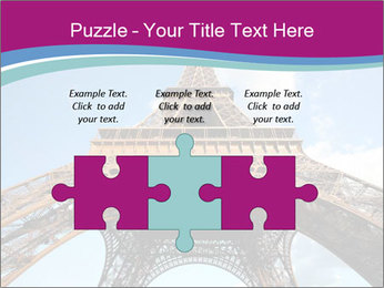 Eiffel Tower in Paris PowerPoint Templates - Slide 42