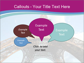 Eiffel Tower in Paris PowerPoint Templates - Slide 73