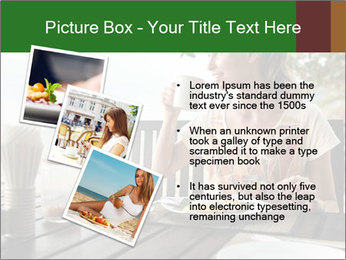 Attractive woman PowerPoint Templates - Slide 17