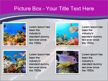 Mauve stinger PowerPoint Template - Slide 14