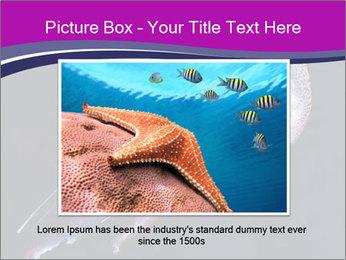Mauve stinger PowerPoint Template - Slide 15