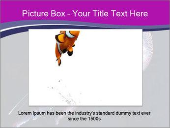 Mauve stinger PowerPoint Template - Slide 16