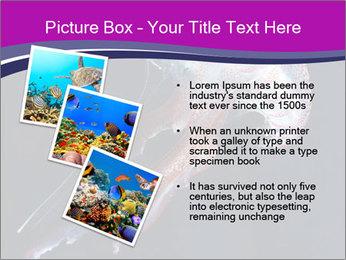 Mauve stinger PowerPoint Template - Slide 17
