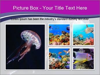 Mauve stinger PowerPoint Template - Slide 19